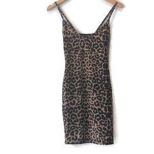 Pretty Little Thing Cheetah Leopard Print Dress